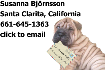 shar-pei puppy contact us